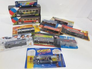 MODEl BUSES   MOST UNOPENED