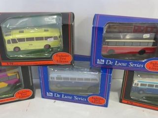 DIE CAST BUSES EXClUSIVE FIRST EDITIONS