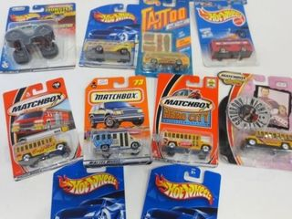 COllECTIBlE VEHIClES BY MATCHBOX  HOT WHEElS
