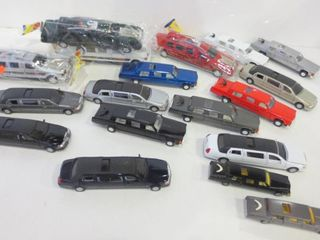 DIE CAST AND PlASTIC CAR AND lIMOUSINE MODElS