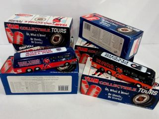 NHl COllECTIBlE DIE CAST MOTORCOACHES WITH SOUND
