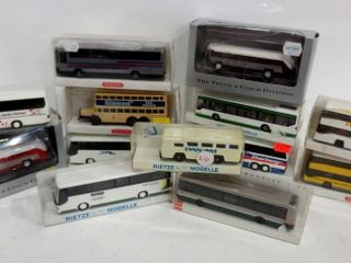 MODEl BUSES BY RIETZE  WIKING