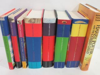 COllECTION OF HARRY POTTER BOOKS BY J K  ROWlING
