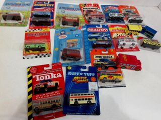 COllECTIBlE VEHIClES BY MATCHBOX  TONKA  OTHER