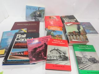 BOOKS ON TRAINS AND RAIlWAYS   ONE VHS THE ORIENT