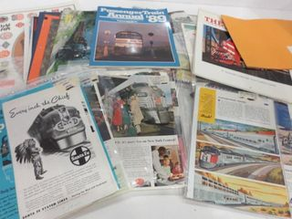 MAGAZINES AND ClIPPINGS ON RAIlWAYS  lOCOMOTIVES
