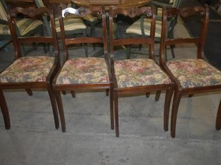 ROSE UPHOlSTERED DINING CHAIRS  4