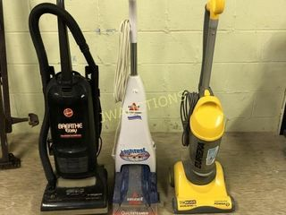 Vacuums and Carpet Cleaner