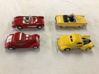 1 32 Thunderbird  Corvette  Ford  Willys