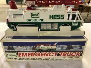 Hess Gasoline  Fire Truck  lights and siren