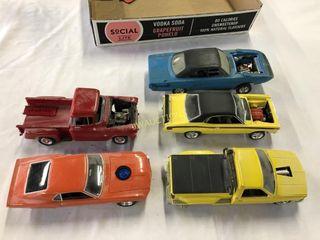 Plastic Cars Trucks