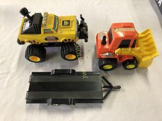 Truck  Trailer  loader