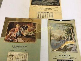 Paisley  Cargill Calendars  IJ48  IJ51  IJ52