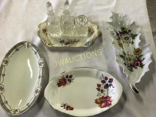 Butter and condiment dishes