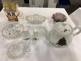 Tea Pot  Candy Dishes