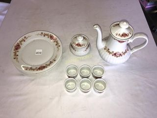 Tea Set  Plates