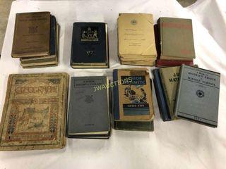 Antique School Books