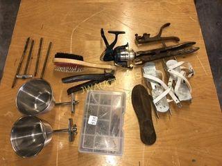 Gun Cleaning Rod  Training Skates  Fishing Reel