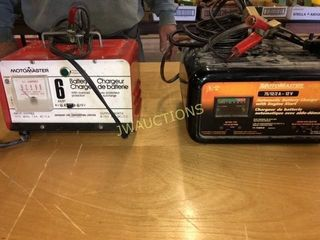 Battery Chargers  working