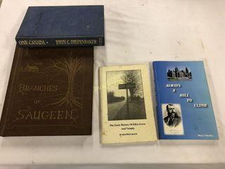 Eden Grove  Saugeen History Books