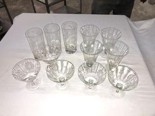 Cornflower Glasses