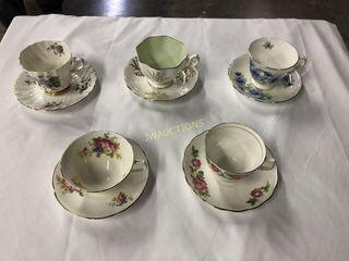 Tea Cups   Queen Ann  3