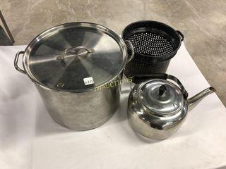 Kettle  Canner Pot  Strainer
