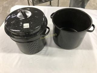 Strainer and Pot