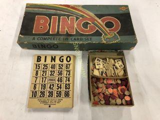 Antique Bingo Game