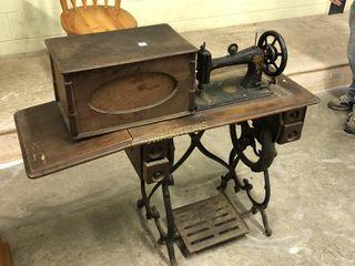 Wilson Sewing Maching  Treddle