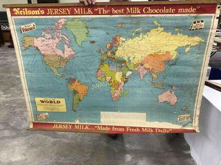NeilsonIJs Jersey Milk  World Map 4IJx3IJ