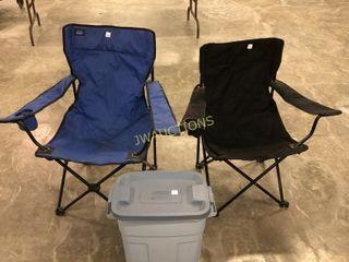 Bag Chairs  Rubbermaid Bin