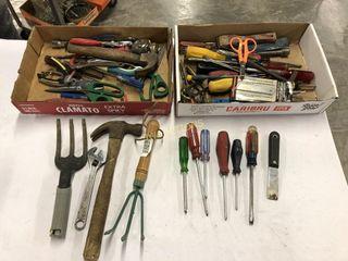 Box lot Hand Tools