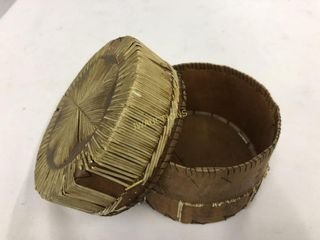 Birch Bark Jewelry Box