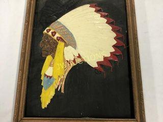 Indian Head on Copper 10x13IJ