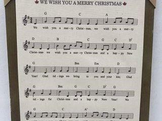 CANADIANA CHRISTMAS WAll DECOR SIZE 14  X 18