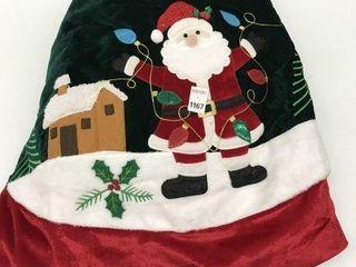 CHRISTMAS TREE SKIRT SIZE 48