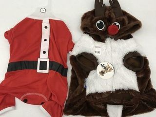 ASSORTED PMP PET CHRISTMAS COSTUME SIZE lARGE