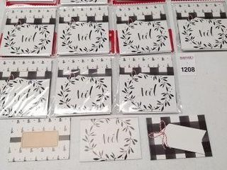 12 PCS GIFT CARD HOlDERS