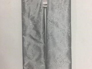 2 PIECES HOlIDAY TIME 48 INCH TREE SKIRT SIlVER