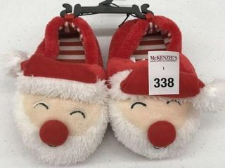 GEORGE KID S CHRISTMAS SlIPPERS SIZE 7 8