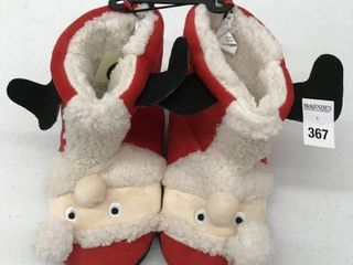 GEORGE KID S CHRISTMAS SlIPPERS SIZE 13 1