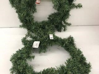 2PCS HOlIDAY TIME WREATH SIZE 24