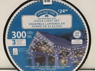 HOlIDAY TIME ICIClE lIGHT SET lENGTH 19 2 FT