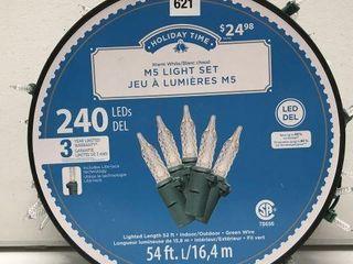 HOlIDAY TIME M5 lIGHT SET lENGTH 54 FT