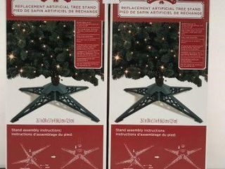 2 PCS HOlIDAY TIME REPlACEMENT ARTIFICIAl TREE