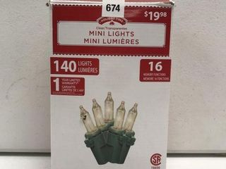 HOlIDAY TIME MINI lIGHTS lENGTH 30 2 FT