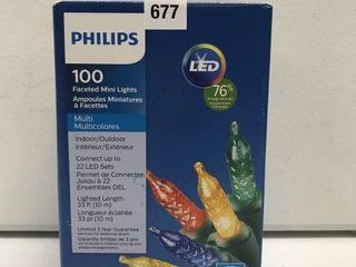 PHIlIPS FACETED MINI lIGHTS