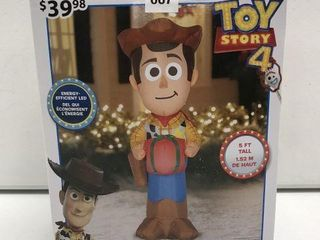 DISNEY AIRBlOWN INFlATABlE WOODY SIZE 5 FT