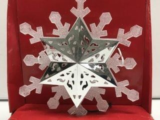 HOlIDAY TIME TREE TOPPER